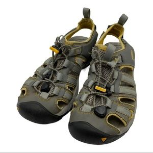 Keen H2 Sandals Gray & Yellow Size 6